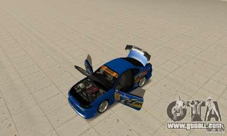 Nissan Silvia INGs +1 for GTA San Andreas back view