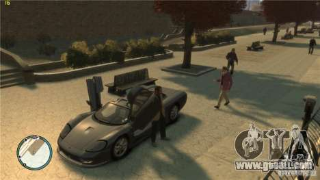 Realistic driving for GTA 4 second screenshot