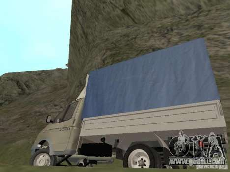 GAZ 3302 in 2001. for GTA San Andreas side view