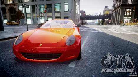 Ferrari 612 Scaglietti custom for GTA 4 side view