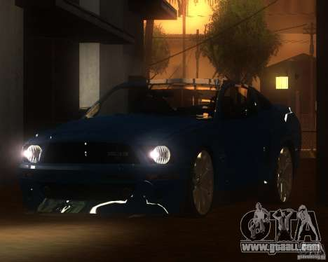 Shelby Mustang 2009 for GTA San Andreas left view