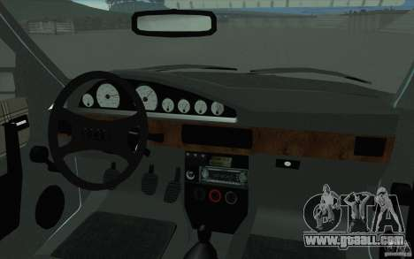 Audi 100 Avant Quattro for GTA San Andreas upper view