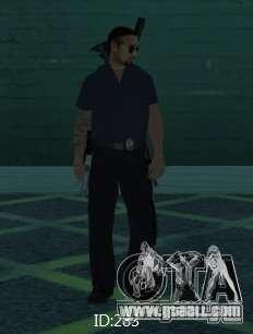New skins SAPD for GTA San Andreas sixth screenshot