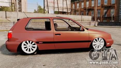Volkswagen Golf MK3 Turbo for GTA 4 left view