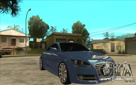 Audi TT 3.2 Coupe for GTA San Andreas back view