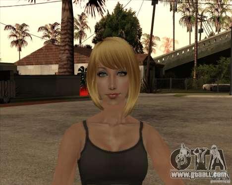 New gangrl3 for GTA San Andreas third screenshot
