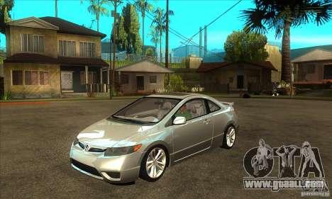 Honda Civic Si - Stock for GTA San Andreas