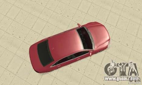 Audi A8L 4.2 FSI for GTA San Andreas right view