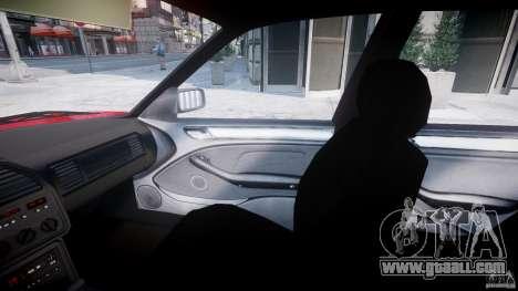 BMW 318i Light Tuning v1.1 for GTA 4 inner view
