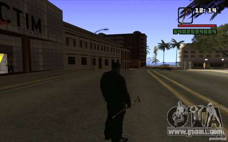 New cane for GTA San Andreas third screenshot