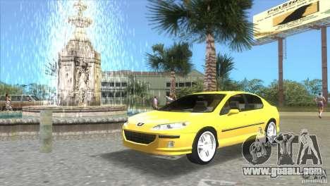 Peugeot 407 for GTA Vice City