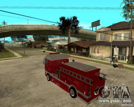 DAF XF 530 Fire for GTA San Andreas left view