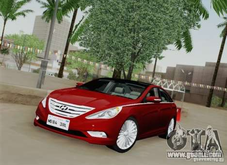Hyundai Sonata 2012 for GTA San Andreas