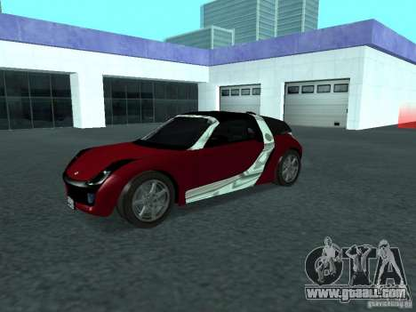 Smart Roadster Coupe for GTA San Andreas inner view