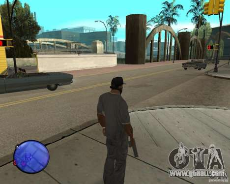 Police On Radar for GTA San Andreas third screenshot