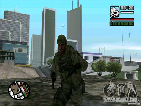 Dave from Resident Evil for GTA San Andreas third screenshot