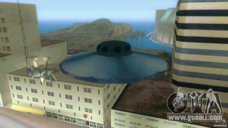 Ufo Hunter for GTA Vice City back left view