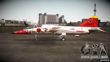 Mitsubishi T-2 for GTA San Andreas left view