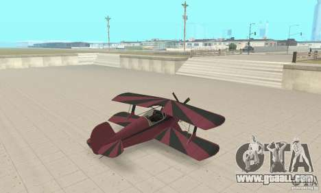 Extra 300L for GTA San Andreas left view