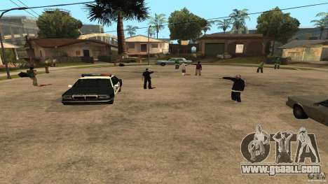 On Grove Street was attacked by Ballas for GTA San Andreas
