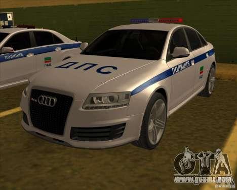 Audi RS6 2010 DPS for GTA San Andreas