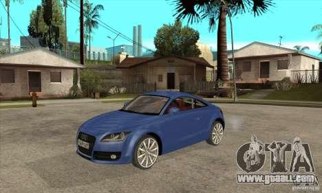 Audi TT 2007 for GTA San Andreas