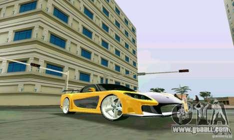 Mazda RX7 VeilSide for GTA Vice City right view