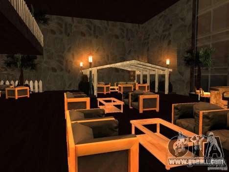 Club on the water for GTA San Andreas third screenshot