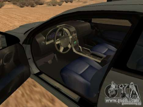 Vauxhall Monaro for GTA San Andreas back left view