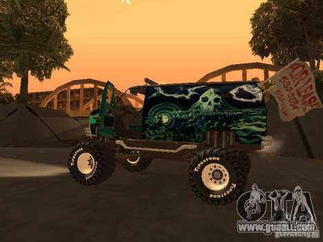 Ford Grave Digger for GTA San Andreas right view