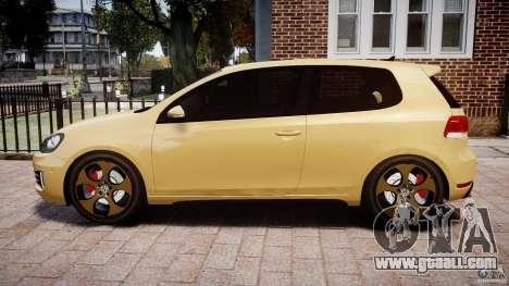 Volkswagen Golf GTI Mk6 2010 for GTA 4 left view