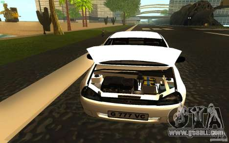 Lada Kalina Stock for GTA San Andreas back view