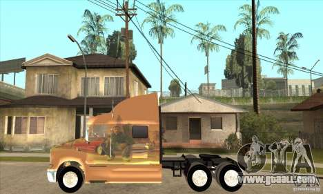 Peterbilt 387 skin 3 for GTA San Andreas left view