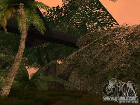 The mystery of the tropical islands for GTA San Andreas fifth screenshot