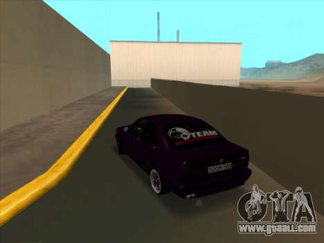BMW M5 E34 NeedForDrive for GTA San Andreas back left view