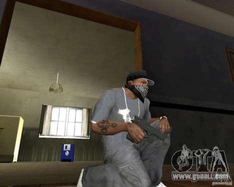 M9 for GTA San Andreas second screenshot