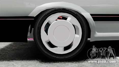 Volkswagen Saveiro 1990 Turbo for GTA 4 back view