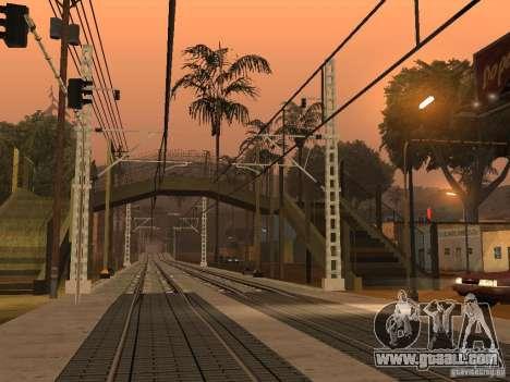 High speed RAILWAY line for GTA San Andreas