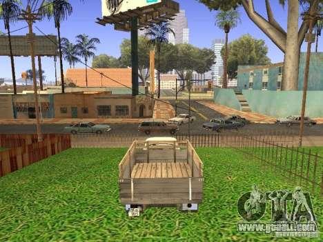 GAZ 53 for GTA San Andreas left view