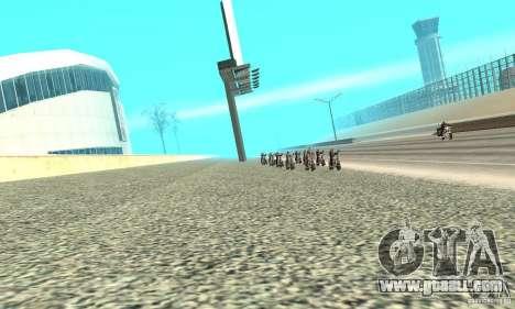 BikersInSa (The BIKERS In SAN ANDREAS) for GTA San Andreas third screenshot