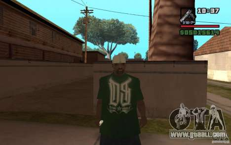 Grove Street Skin Pack for GTA San Andreas second screenshot