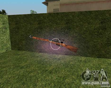 Mosin-Nagant for GTA Vice City
