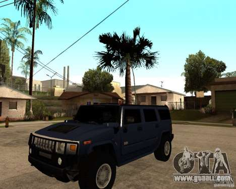 Hummer H2 SE for GTA San Andreas