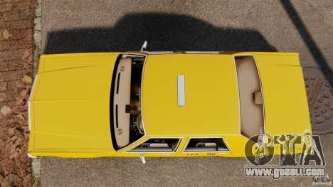Ford LTD Crown Victoria 1987 L.C.C. Taxi for GTA 4 right view