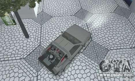 DeLorean DMC-12 (BTTF2) for GTA San Andreas back left view