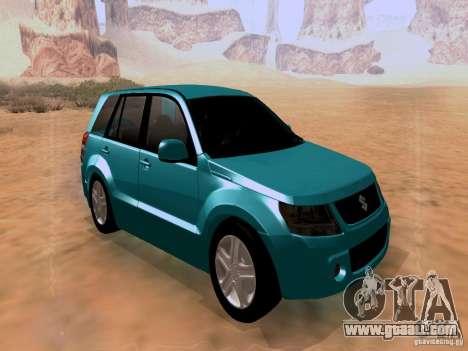 Suzuki Grand Vitara for GTA San Andreas right view