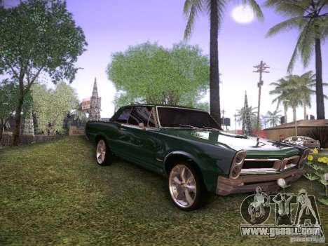 Pontiac GTO 65 for GTA San Andreas left view