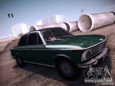 BMW 2002 1972 for GTA San Andreas