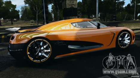 Koenigsegg Agera R v2.0 [EPM] for GTA 4 left view