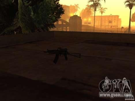 Pak domestic weapons for GTA San Andreas fifth screenshot